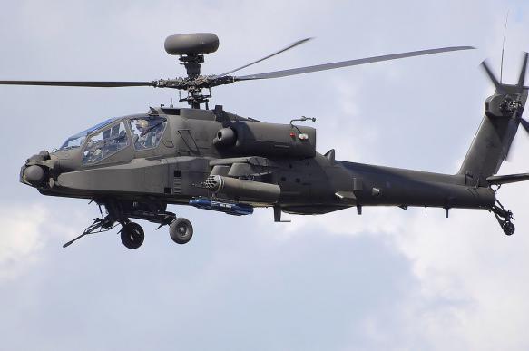 Американские вертолеты научились сбивать беспилотники лазерами
