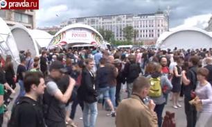 День России в Москве отметили с большим размахом