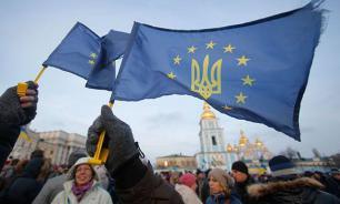 Киев: Мы падаем, но это к лучшему