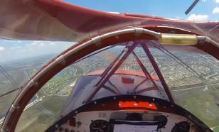Пилот запустил отказавший двигатель пикирующего самолета у земли