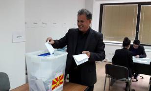 Провал референдума в Македонии объявили победой Москвы