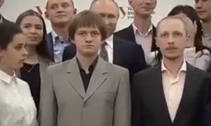 Пользователи сети обеспокоились судьбой студента после фото с Путиным