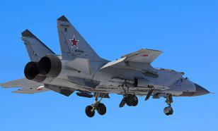 Российские пилоты на МиГ-31 совершили полет в условиях Крайнего Севера