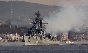 """Присутствие """"Сметливого"""" заставило НАТО изменить ход маневров"""