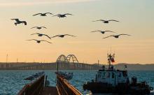 Меркель и Макрон потребовали свободы судоходства в Керченском проливе