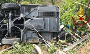 Один россиянин погиб и десять пострадали в результате ДТП с автобусом в Италии