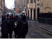 Возмущенные россияне забросали камнями посольство Турции