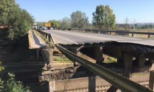 Один человек пострадал в результате обрушения моста в Псковской области
