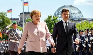 Меркель почувствовала себя плохо во время встречи с Зеленским