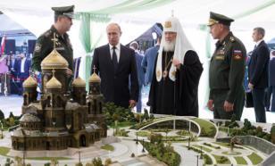"""""""Скрепно!"""": главный военный храм поразит железной мощью"""