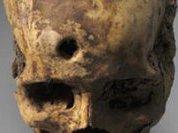 Африканская резьба по черепу