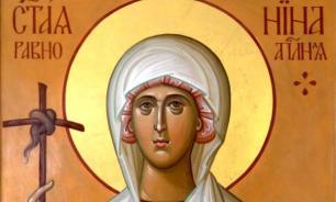 Святая Нина - простая девушка, равная апостолам