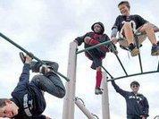 Детские площадки: детям до 16-ти запрещается