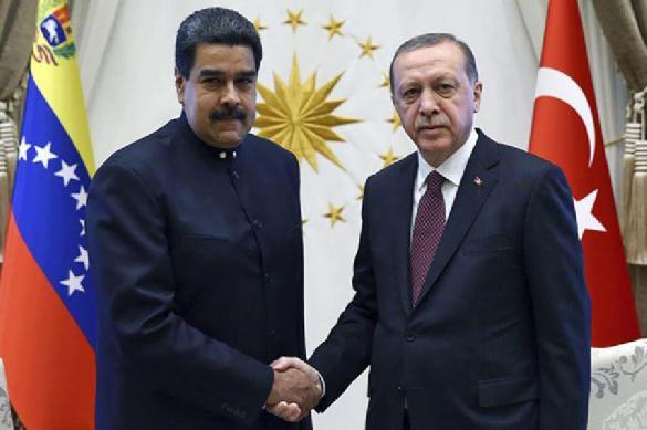 Атака дронов на Мадуро - это знак Эрдогану