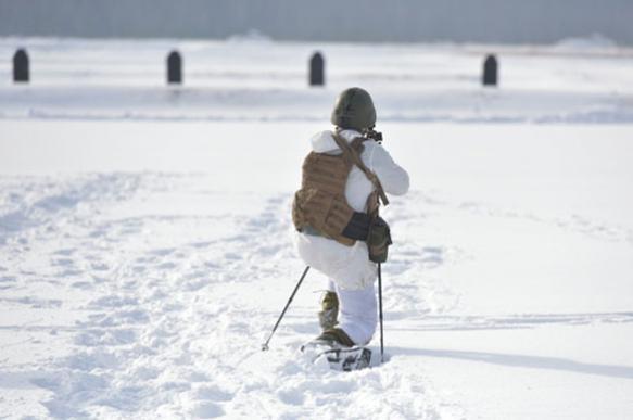Войска НАТО учатся воевать в холод и снег