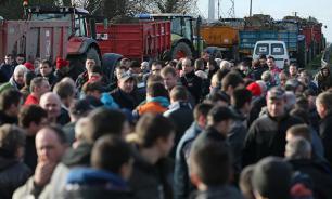 Французские фермеры требуют снять антироссийские санкции