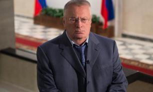 Жириновский накричал на журналистов за отсутствие вопросов к нему