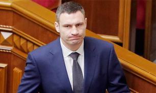 Кличко опозорился на приеме израильских журналистов в Киеве