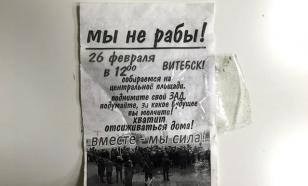 """ЭКСПЕРТЫ: Лукашенко вобьет """"Майдан тунеядцев"""" в землю"""