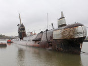 Советский ракетный атомоход таранил айсберг