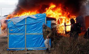 Изгоняемые мигранты устроили беспорядки во Франции