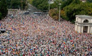 К молдавскому Майдану допустили не всех