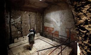 Тайная подземная комната обнаружена под римским дворцом