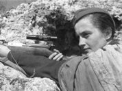 Лики войны: Людмила Павличенко, героиня США
