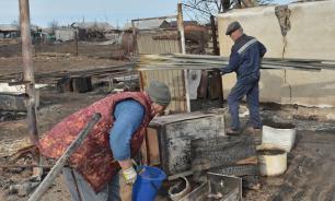 Степные пожары уничтожили 70 домов в Забайкалье