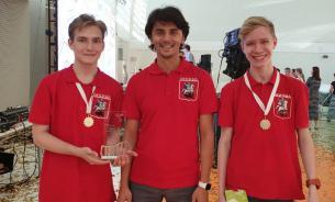 "Московские школьники взяли три ""золота"" на робототехнической олимпиаде"