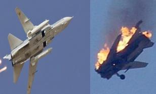 Пилот сбитого Израилем Су-22 отказался покинуть самолет, чтоб не попасть в плен