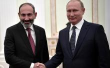 С чем приехал Пашинян к Путину