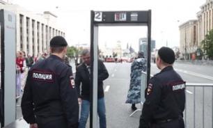 На проспекте Сахарова в Москве проходит согласованный митинг