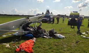 В Московской области совершил жесткую посадку легкомоторный самолет