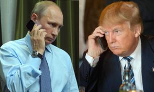 В Белом доме рассказали, что Трамп и Путин обсуждали по телефону