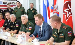 """Замминистра обороны поблагодарил главу Севастополя за поддержку """"Юнармии"""""""