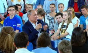 """Десять ответов Путина из """"Недетского разговора"""""""