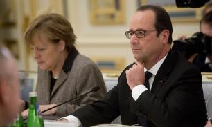 Олланд и Меркель обсудили последствия выхода Великобритании из ЕС