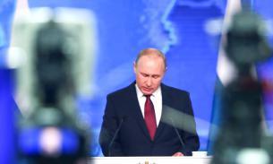 """""""Народное"""" послание Путина смотрело лишь 5,9% москвичей"""