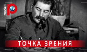 Кто бьет по Сталину?