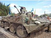 """""""Колхозный"""" тюнинг для украинских танков"""