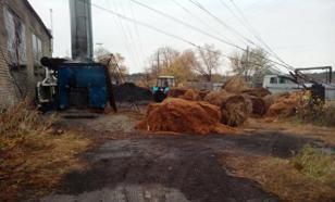 Энергетическая сверхдержава: провинциальные поселки начали отапливать сеном