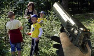 Нетрезвые воспитатели устроили стрельбу в детском лагере