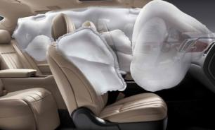 Подушка безопасности: типы и как они работают