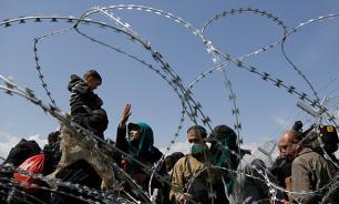 На границе Греции и Македонии в беженцев стреляли в упор