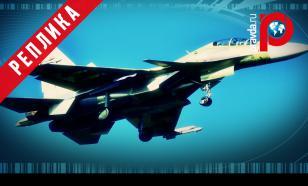 Российский истребитель Су-30СМ сбил крылатую ракету над Черным морем
