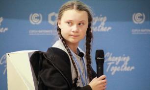 Экозащитница прогуляла школу и отчитала мировых лидеров