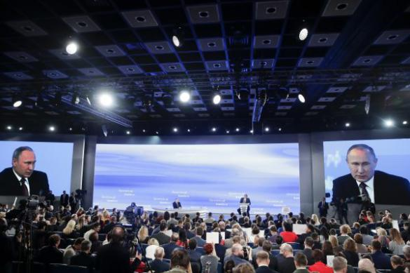 Путин: Киеву стоит подумать, почему Донбасс считает ВСУ оккупантами