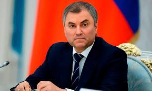 Спикер Госдумы предложил посчитать ущерб, нанесенный Крыму в составе Украины
