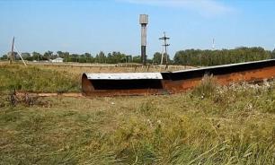 Сибиряки пытались украсть водонапорную башню